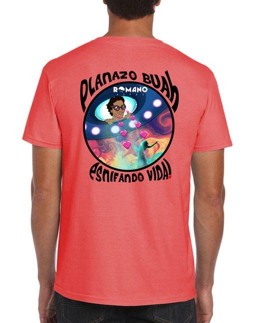 camiseta Esnifando Vida coral de Romano Aspas